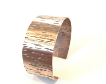 Bronze Aspen Bark Cuff - part of the Aspen Collection