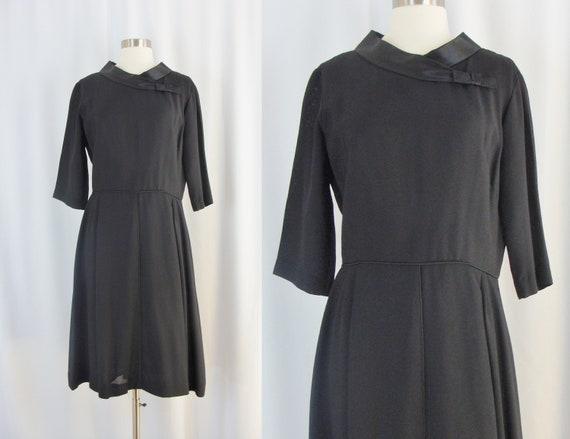 Schwarzes kleid 60er
