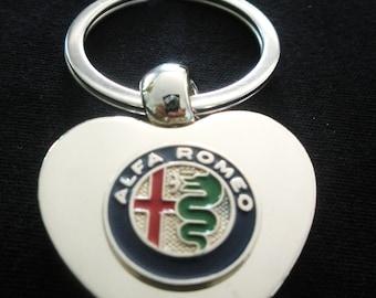 Dodge Ram Personalized Engraved Key Ring Birthday Gift Love Token Key Fob Keepsake Anniversary Gift Engraved Silver Heart Keyring