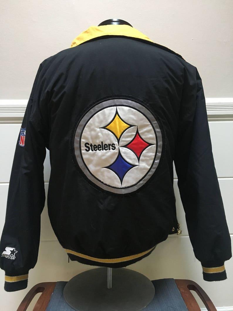 3331de80 Vintage Pittsburgh Steelers Starter Jacket