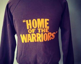 Vintage 1980s Warriors Hoodie