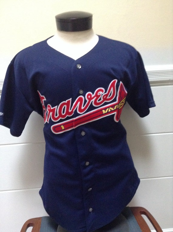new product d209f ef24a Vintage Atlanta Braves Game Jersey