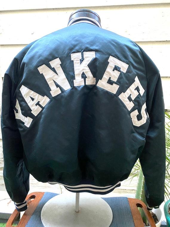 Vintage Chalkline Satin New York Yankees Jacket