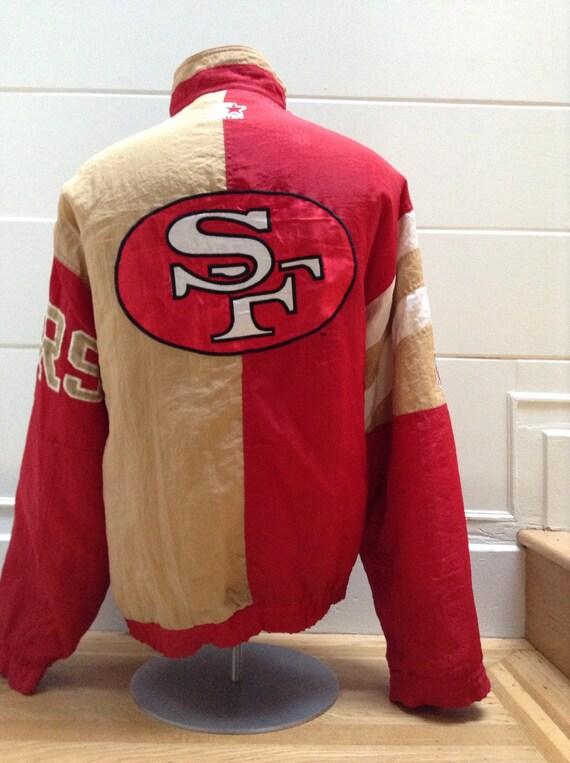 separation shoes 15a0a 18c79 Vintage San Francisco 49ers Starter Jacket