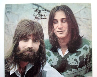 Vintage Vinyl Record LOGGINS and MESSINA s/t - 1972 - Album, LP - Classic Folk Rock, Country Rock -  Music