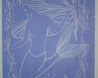 Mermaid in Lavender
