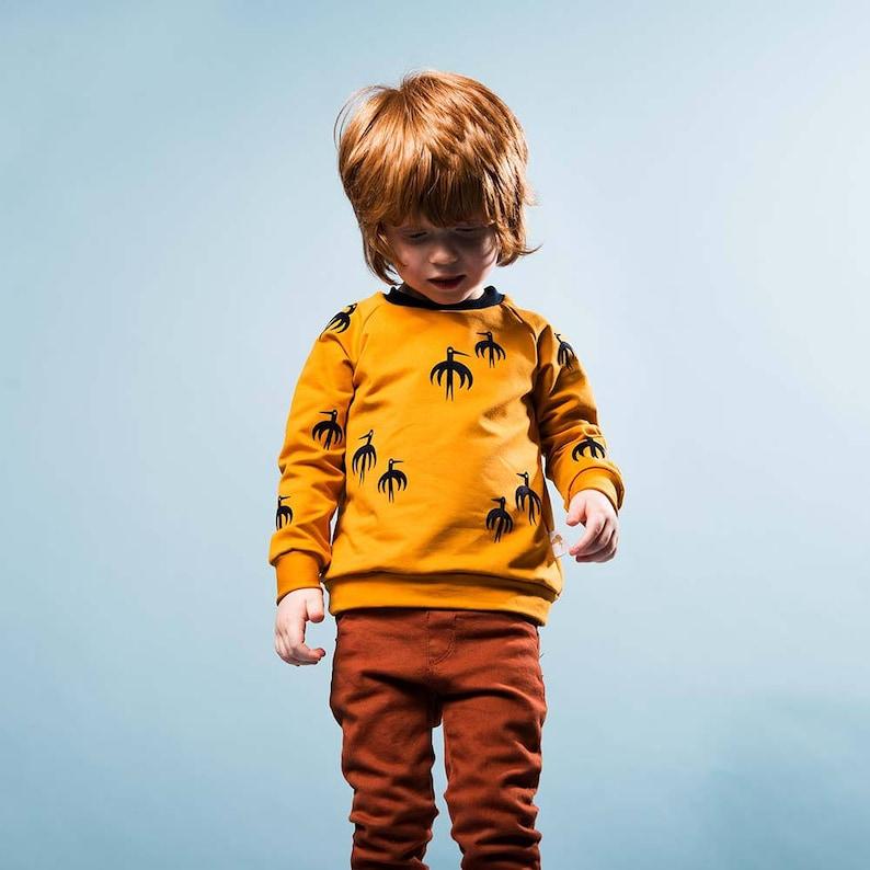 Umbrella Birds  Sweater-no shipping costs image 0