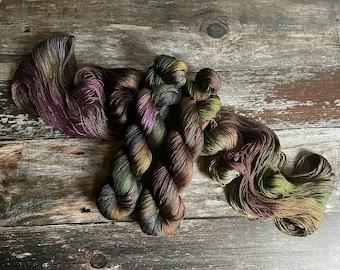 Spellcaster's Moon.  Morrigan Pure Silk. Heavy Lace.