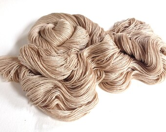 Ishtar. Silk Baby Camel 4 Ply/Fingering Yarn. Natural Hush.