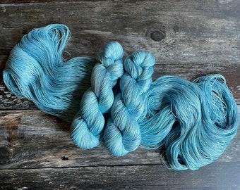 Fly High. Persuasion Lace Yarn. Silk Linen