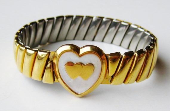 Vintage 12k Gold Filled Heart Shaped Sweetheart Ex