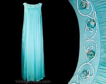 Open Front Turquoise Beach Robe 037.330