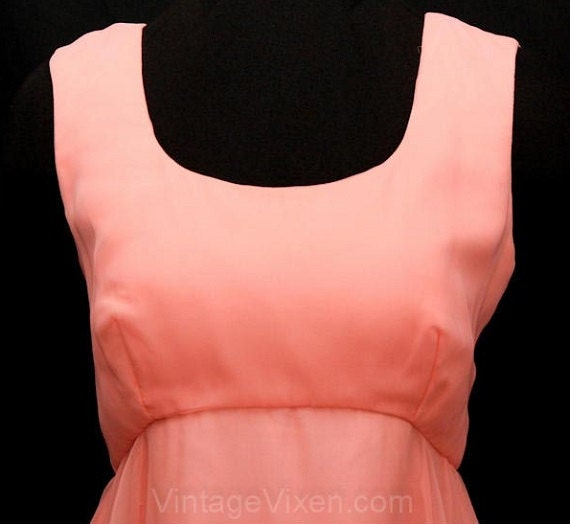 2a971d92ff3 Size 10 Formal Dress Lillie Rubin 1960s Beautiful Coral