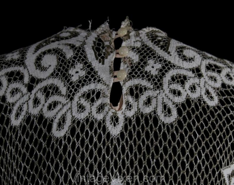 60s 70s Paisley Hippie Bust 34-50760 Size 6 Boho 1960s Lace Mini Dress Small Ivory Net Bohemian Festival Dress Angel Flare Sleeves