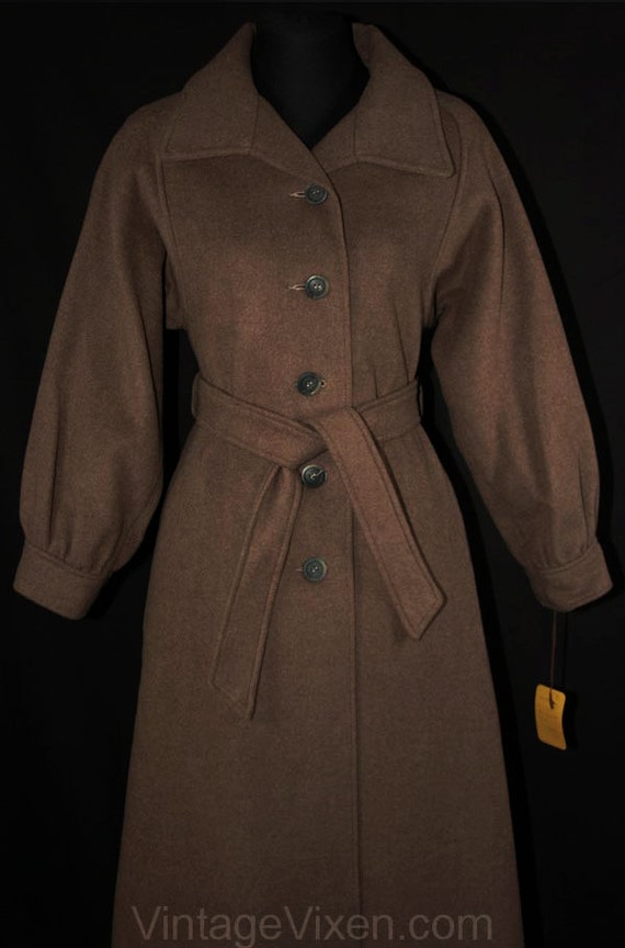 Fall High Dusky 4 Price Coat Original 1 Quality Sophisticated Overcoat Wool 225 Size 33668 33 Brown Tag Deadstock 1970s Bust A7X8wdxcZq