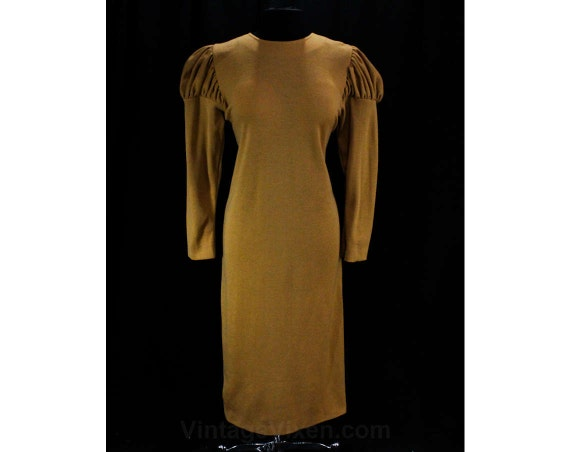 Size 14 Special Designer Dress - Beautiful Toffee