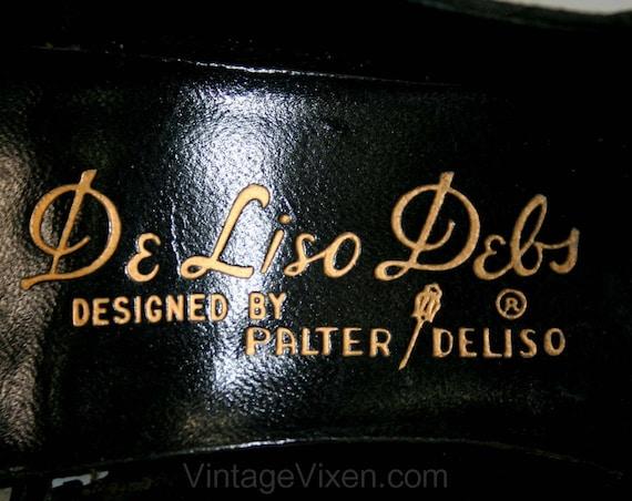 High Size 50s 6 Gorgeous Heels Size Sexy 6 Silk DeLiso 1 41537 Narrow Black Width 2 Debs 5 Shoes A Heels Stilettos Brocade 1950s xzwP4Aq