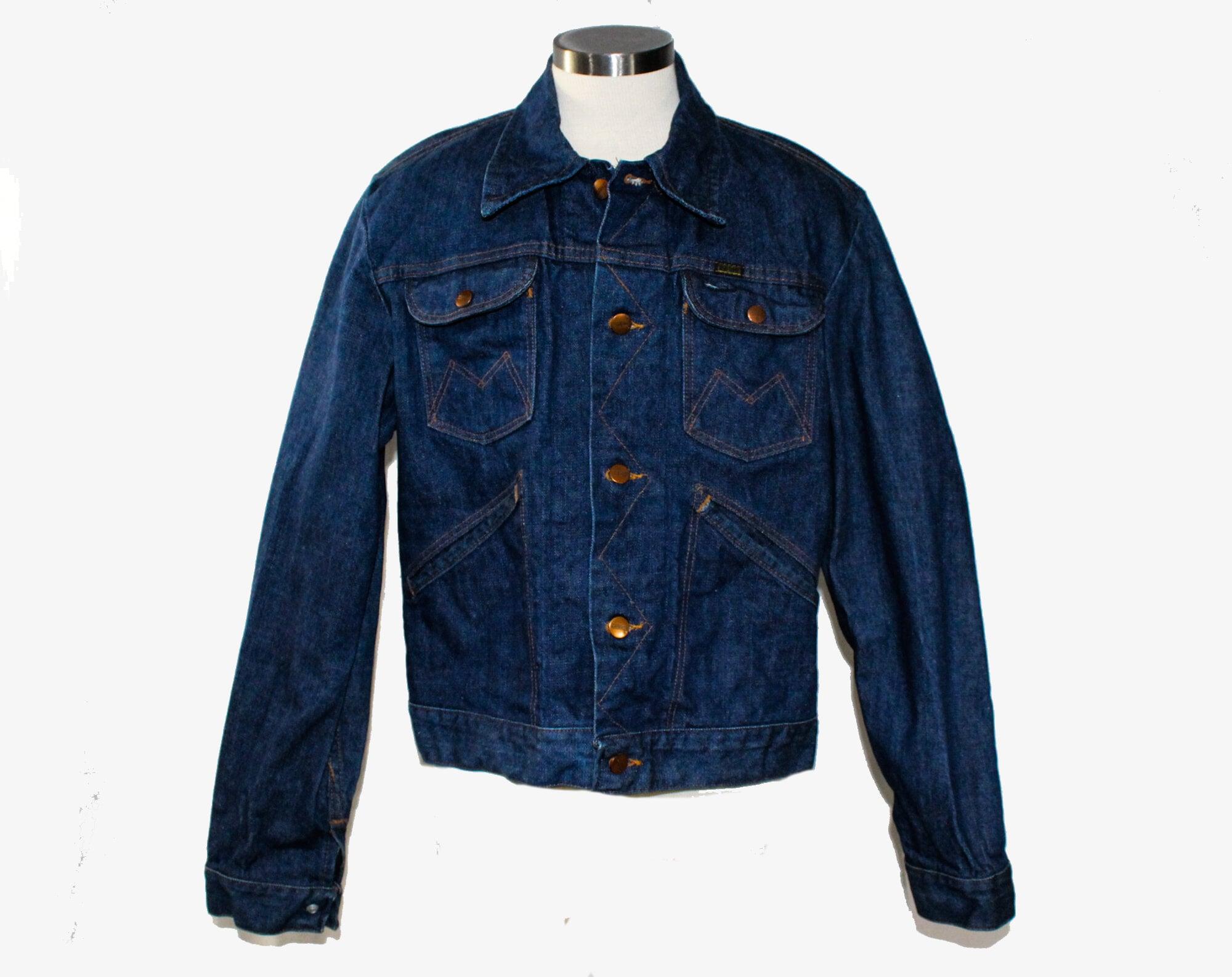 1960s – 70s Men's Ties | Skinny Ties, Slim Ties Mens Small Jean Jacket - 60S Maverick Label Cotton Denim Cropped Waist 1960S Work Wear Great Patina Vintage Blue Bell Chest 40 $40.45 AT vintagedancer.com