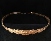 Baroque Brass Circlet Hea...