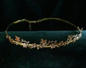 Ivy Circlet Crown Headpie...