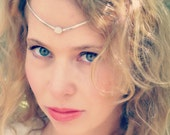 Silver Circlet with Moons...