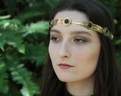 Copper and Brass Circlet ...