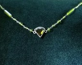 Green Silver Chain Headpi...