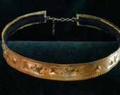 Thick Brass Circlet Headp...