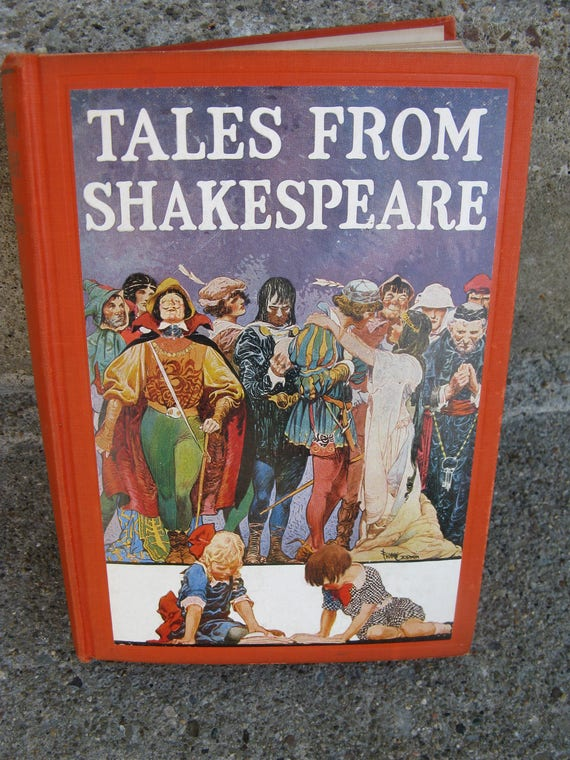 Children/'s Illustrated Classic... by Lamb, Mary Hardback Tales from Shakespeare
