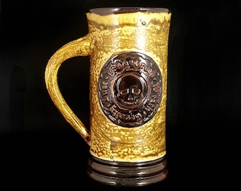 Stoneware Pirate Creed Mug