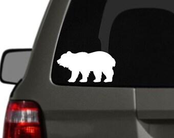 Bear Vinyl Car Decal BAS-0292