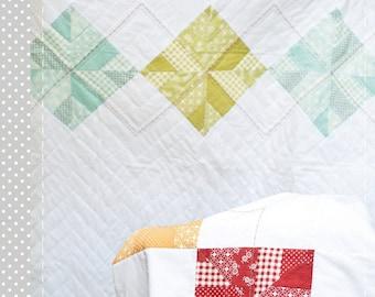 Baby Argyle Quilt Pattern - PDF Version