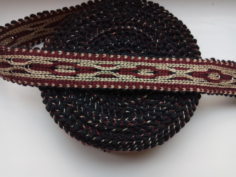Coton main tissé à la main Coton ouzbek garniture Jiyak. Tribal ethnique, boho, hippie garniture. NTR113 93e22b