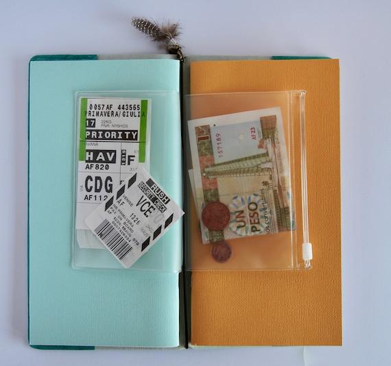 Carnet de voyage voyage de couverture Teal - «La Copertina» dd3e07