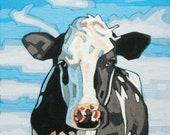 Spots - Cow Art Print