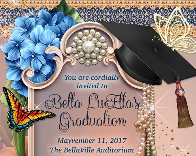 Elegant Graduation Invitations, Grad Invites, Graduation Ceremony