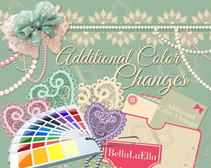 Additional Color Change Listing