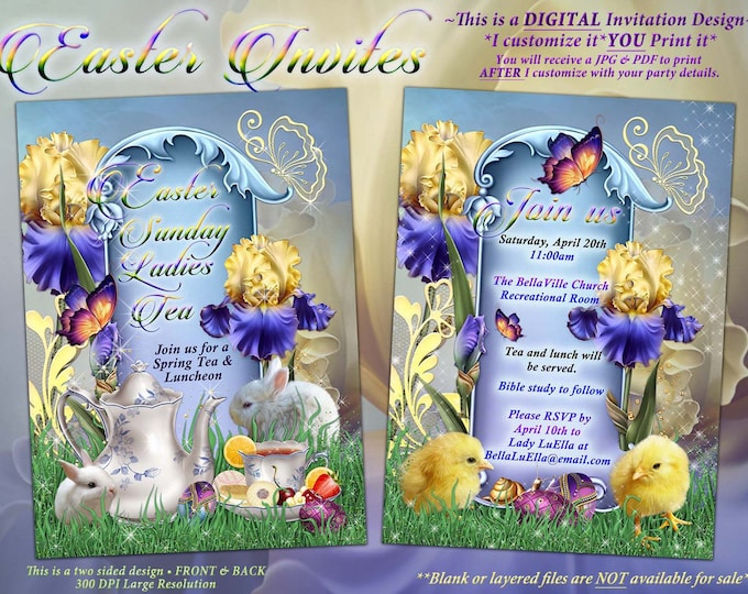 Easter Sunday, Easter Sunrise Service, Easter Tea Luncheon, Spring Tea Party