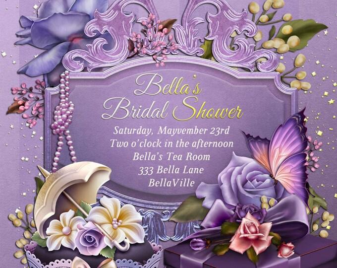 Bridal Shower Invitation, Shower Invitations, Bridal Showers