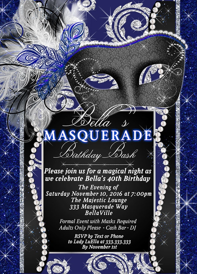 masquerade party invitation mardi gras party party invitations masquerade invitations