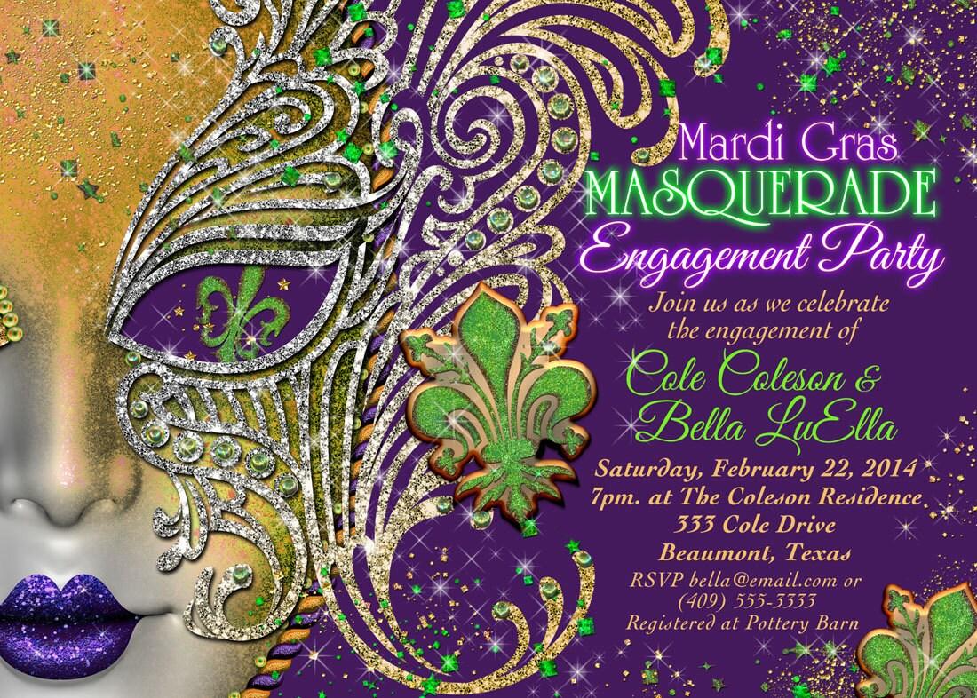 5cd98a26e71 Quinceanera Masquerade Party Birthday Masquerade Invitation