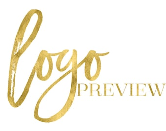 Premade logo preview - Try before you buy no risk preview