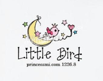 logo design, cute bird logo, kids business , kids logo 1226-8