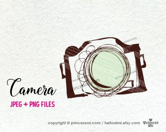 camera clipart, photography photographer artwork, PNG file by princessmi SALE #3