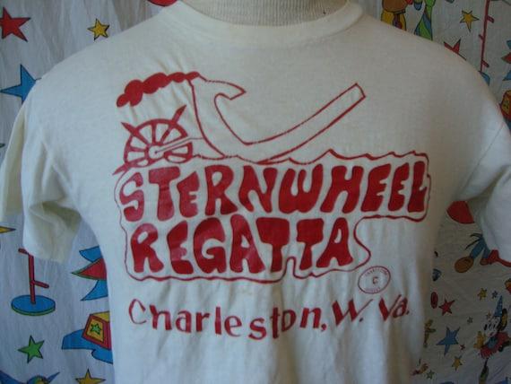 Vintage 80 s Sternwheel Regatta Charleston West Virginia  296bdceb0