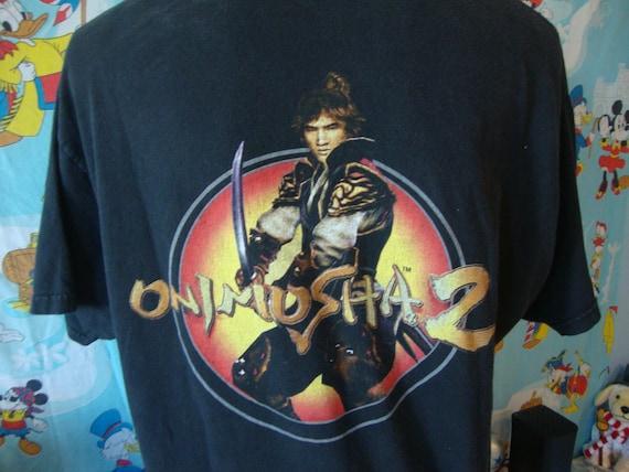 Vintage 90's Genma Onimusha Capcom Video Game T Sh