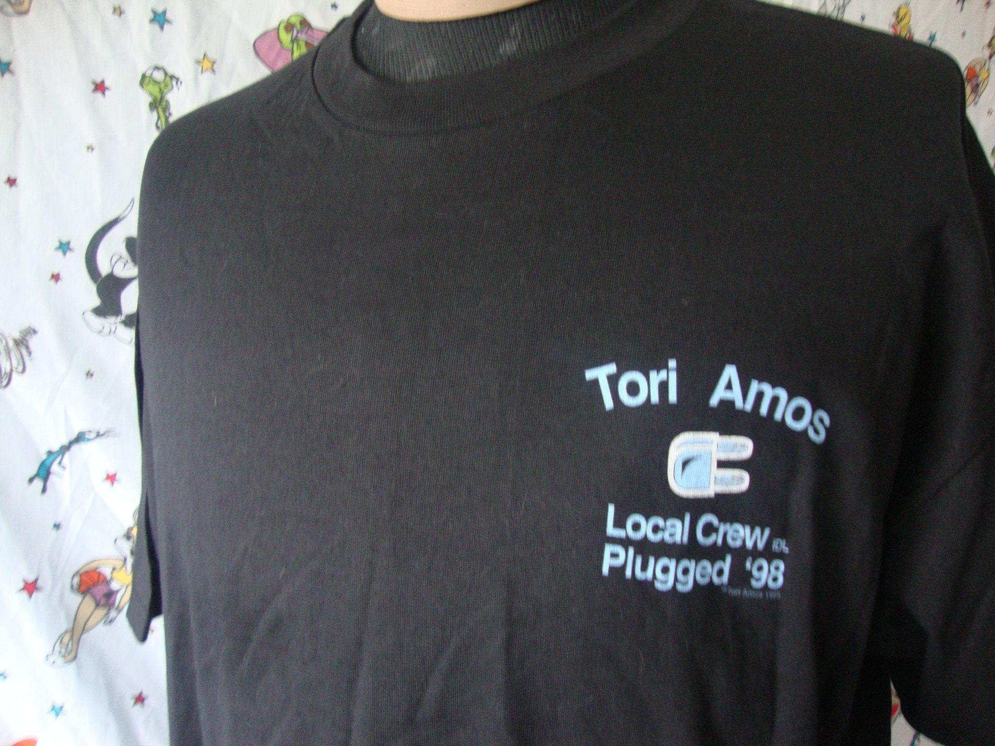 90 ' s Vintage Tori Amos Local Crew branché Shirt 1998 concert Tour T Shirt branché adulte taille XL 90b1bf