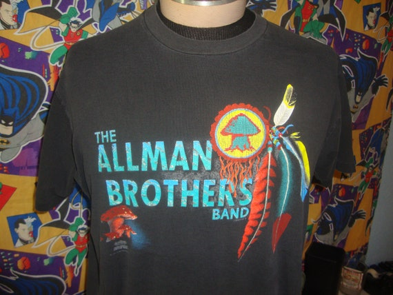 Vintage 90's The Allman Brothers 1991 Concert band