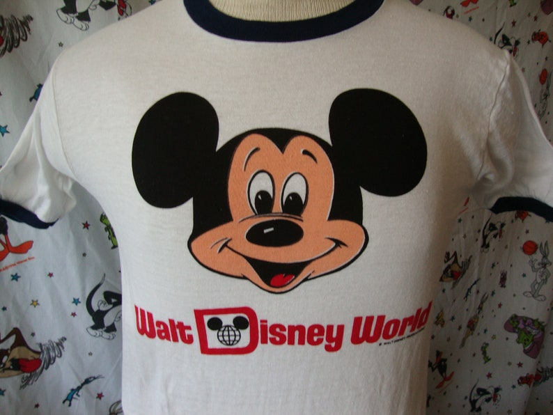 2f5b53e8 Vintage 1970s Walt Disney World MICKEY MOUSE Florida Tourist | Etsy