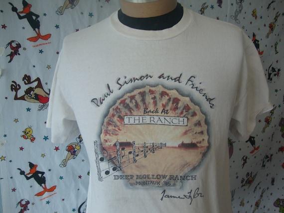 Vintage 90's PAUL SIMON 1995 James Taylor Tommy Hi